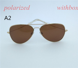 Wholesale Design Womens Sun Glasses - Brands design sunglasses Classic Retro Womens Mens sunglass Fashion Vintage Designer 54mm Polarized sun glasses with box case