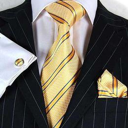 Hot Bar Australia - FACTORY SALE GIFT BOX TIES HANKY CUFFLINKS tie bar tie Clasps Neckties cuff button hot #1321