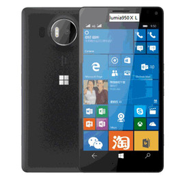 "Wholesale Lumia Bluetooth - Lumia 950 XL (Factory Unlocked) 5.7"" 20mp 3gb RAM 32gb 4g Smartphone(white black)"