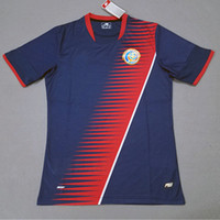 Wholesale Jersey Shorts For Men Football - Costa Rica Soccer Jerseys 17 18 Limited Edition Gold Cup 2017 Costa Rica Home Away Football Shirts Wholesale Camiseta de futbol for gold cup