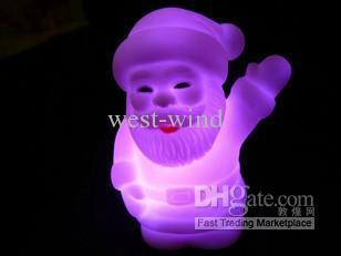 lumière cadeau de noël cadeau de Halloween cadeau coloré diapositive changer sept couleurs