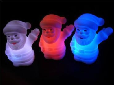 20pcs lumière cadeau de noël cadeau de Halloween cadeau coloré diapositive changer sept couleurs