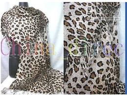Wholesale Zebra Print Brown - animal print scarves Zebra leopard print Scarf Ponchos WRAPS Shawl 10pcs lot #1332
