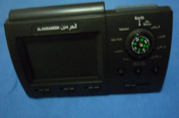 Wholesale FREE dropshipping Digital Quran Clock Azan prayer clock 3005 Fajr alarm. Islamic Quran Muslim New !