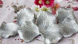 Серебряные Шелковые Лепестки Роз Свадебный Фавор Партии Цветов 20 Пакетов (100 шт. В упаковке) от