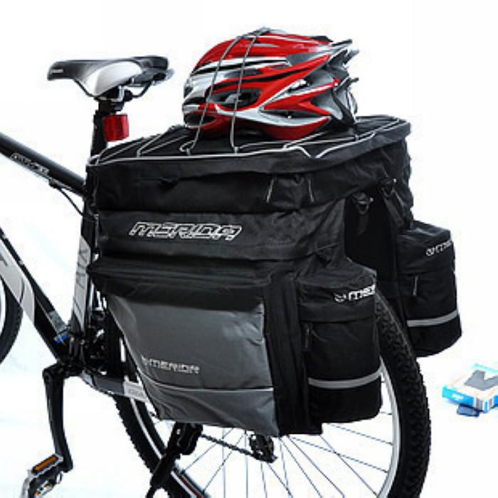 Cycling Bicycle Front Frame Handlebar Bag Pannier Pouch Outdoor With Rain Cover