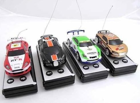 Car Remote Control Micro Racing Car Coke Can Packaged Mini Rc Hot