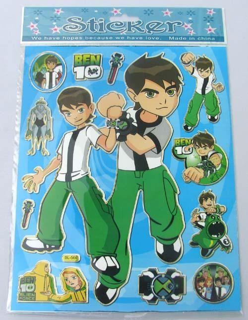 Wholesale 100 Sheets Cartoon Ben 10 Boy S Jolee S Boutique