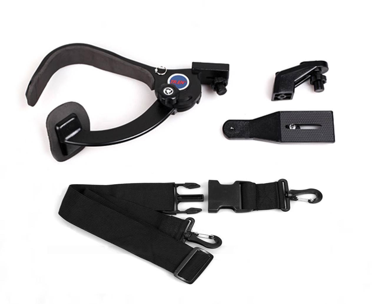 DSLR Stabilizator podkładki na ramię DSLR do 6 kg kamer wideo Kamery DV Hands-Free Fotografowanie