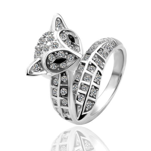 pack new 18k white gold ring jewelry fine jewelry cute fox style mens wedding rings cushion cut engagement rings from zsbs990 dhgatecom