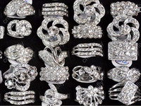 Wholesale Cz Fashion Jewellery - Jewlery Rings Fashion Jewelry 15 CZ gemstones Wedding Engagement Ring fashion jewellery [CZ48*15]