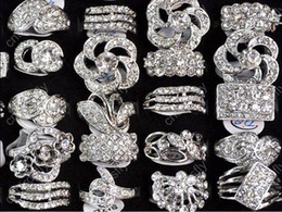 Wholesale Gemstone Alloy Jewellery - Jewlery Rings Fashion Jewelry 15 CZ gemstones Wedding Engagement Ring fashion jewellery [CZ48*15]