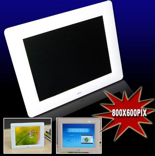 8 inch LCD Digital Photo Frame SD Remote control With MP3 MP4 Player 270 degree