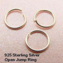 Wholesale Open Jump Rings 8mm - Free shipping 1000 pcs bag 8mm Silver plated metal Open Jump Rings, Jewelry Findings
