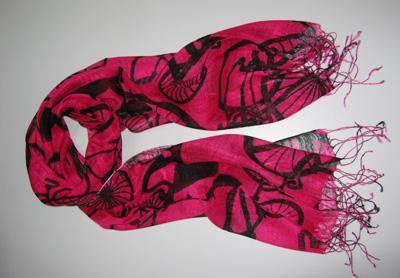 Ultima signora stampa lunga Sciarpe poncho avvolgere sciarpe scialli / # 1379