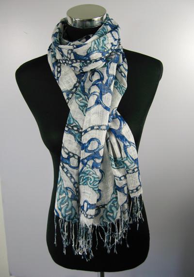 Laatste dame lange print sjaal ponchos wrap sjaals sjaals / # 1379