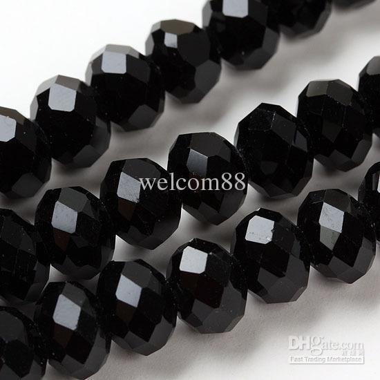 720 sztuk / partia Mix Kolor Kryształ Szkło Okrągły Faceted Luźne Koraliki Dla DIY Craft Biżuteria Prezent CS2