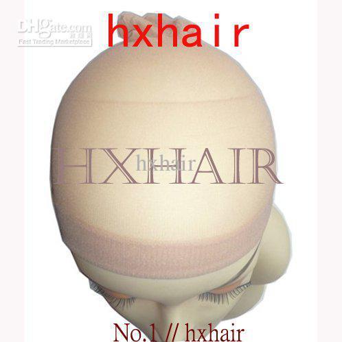 No.1 Hairnets Wigs Cap / Accessoires Femmes Wigs Mesh Weaving / Beige Noir