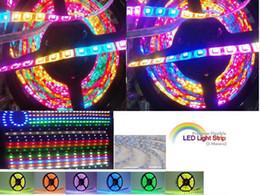 Wholesale Dream Color Flexible Led Strip - 15M Dream Color 5050 RGB SMD Horse Race Lamp LED Strip Flexible Waterproof + Controller