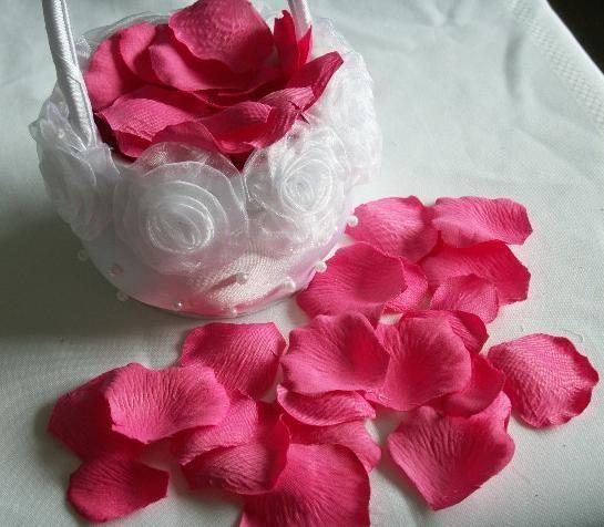 silk rose petal hot pink color wedding favour flower petals 15 bags bag valentine flowers valentines flowers from kisskid dhgatecom