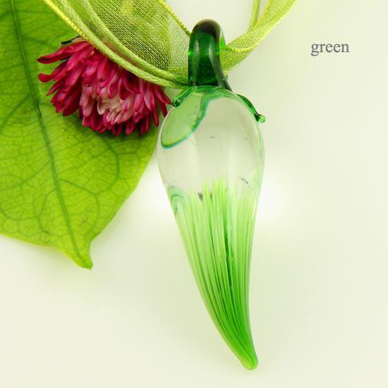 Chili pepper flower Italian venetian blown murano glass handmade pendants for necklaces jewelry cheap china fashion jewelry Mup084