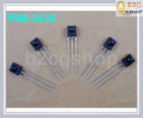 top popular wholesale 300pcs IRM_3638 Infrared Receiver 38Khz DIY Arduino PIC promotion dvd remote controller 2020