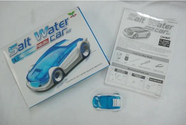 Купить Оптом Green Energy Игрушки Соленой Воды Автомобиль Fuel Cell DIY  Комплекты Соль Вода