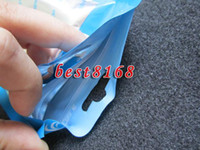 Colorful Zipper Plastic Retail Bag Packaging Package pour HTC Iphone 3G 3GS 4G 4 4ème 5 SE 5S 4S étuis rigides en cuir souple 3000PCS / lot