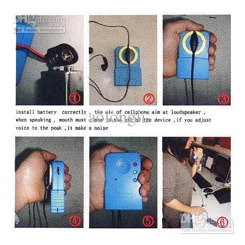 диапазон-Handheld телефон мобильного телефона Sxd-206A Изменителя голоса портативный