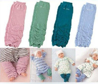 Melee 30pc lot Baby Leg Warmer Solid Socks Baby Leg Covers B...