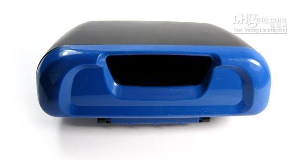 Blanco Alamor Multifuncional Asiento De Carro Bosoner Grieta Caja De Almacenamiento Basura Basura Bote De Basura Estuche De Pl/ástico