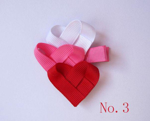 "wholesale-baby girl grosgrain ribbon bows hair bows cute 2"" hair clips Character bows 100pcs/lot"