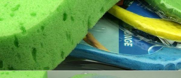 / 자동차 청소 스폰지 믹스 색상 22 * 11cm 세척 수건 다목적 클린 스폰지