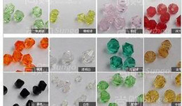Il trasporto libero 100pcs / lot Swarovski Crystal 6mm Bicone Beads / Bead / Fashion Beads / Jewelry / Vendita calda