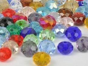 Livraison gratuite 100pcs / lot Cristal Swarovski 6mm Bicone Perles / Perles / Perles De Mode / Bijoux / Vente Chaude