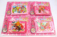 Wholesale Winx Watch Wholesale - Wholesale 10 sets Winx Club Watches And Wallet Sets