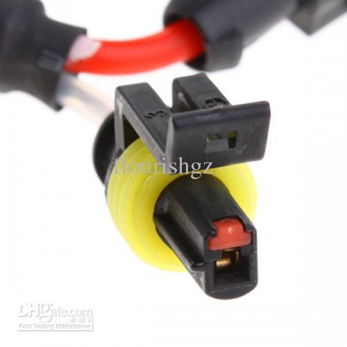 50ピースHIDヘッドライトD2 D2S D2R D2CコネクタワイヤーハーネスバルブアダプターHIDソケット良い品質