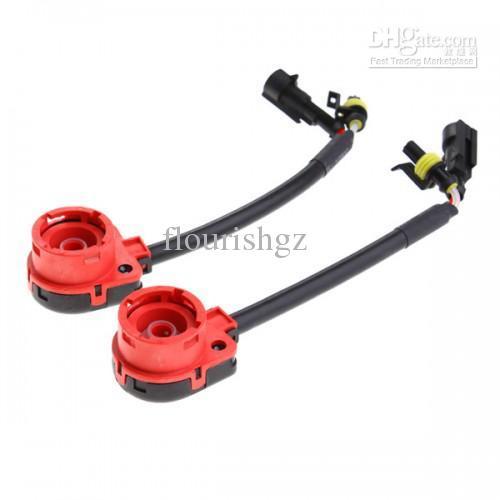 HID-strålkastare D2 D2S D2R D2C Connectors Wiring Harness Bulb Adaptrar HID SOCKETS God kvalitet