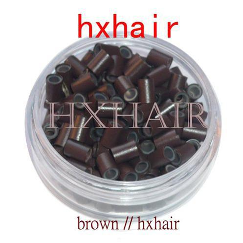 5000pcs 4.5mm With Silicone Copper Tube / Micro Rings Links Beads / I-Tip Hair Extension Tools