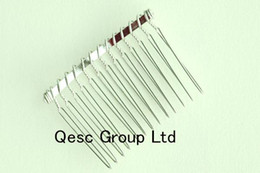 Wholesale Formal Wedding Hair - Silver 5cm metal wire comb for sinamay fascinator hair accessories wedding accessories