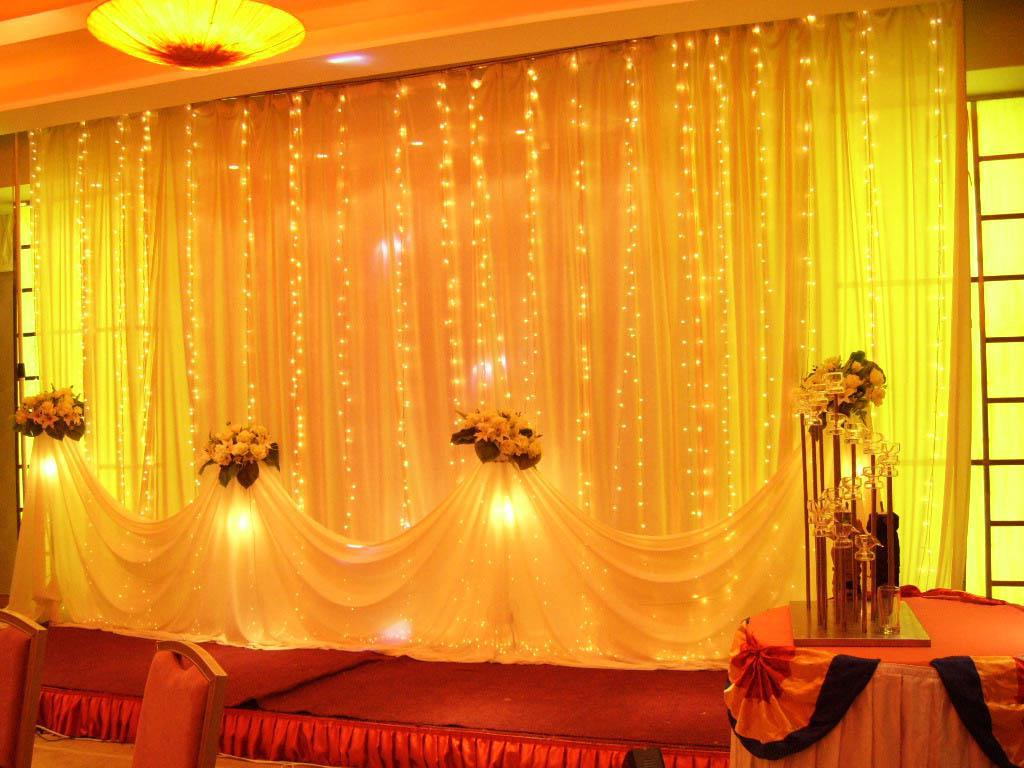 led lights for wedding decorations wedding curtain lights curtain menzilperde net 5446
