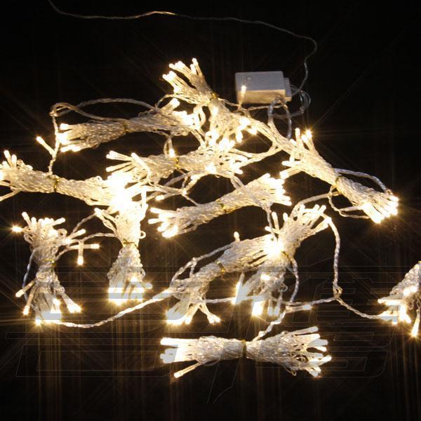 1024 LED allume les lumières de rideau 8m * 4m, la lumière d'ornement de Noël, les lumières colorées féeriques de mariage LED