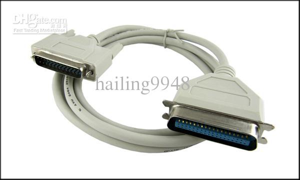 4 9ft 25 Pin Parallel Port Printer Cable 25 Pin
