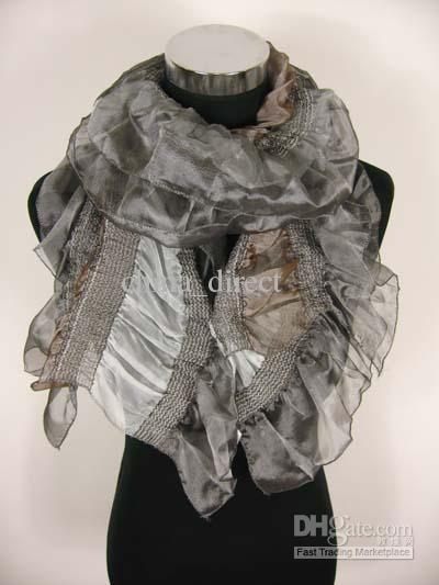 Bufandas bufanda de mujer de las señoras Bufanda envuelve chales Ponchos chal / # 1394
