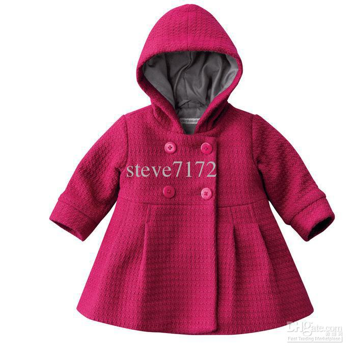 Baby Coats Girls' Overcoat Girl's Jacket Kids' Hoodies Bew Coats ...
