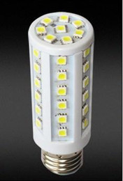 Wholesale E14 44 Led - 9W E27 E14 5050 SMD 44 LED Bulb LED Corn Lamp AC 110V-220V Energy-saving 3pcs lot