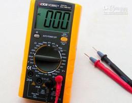 Wholesale Victor Multimeter - Wholesale - VICTOR VC890C digital multimeter VC890C+ 3 1 2 Digital Multimeter Measuring temperature