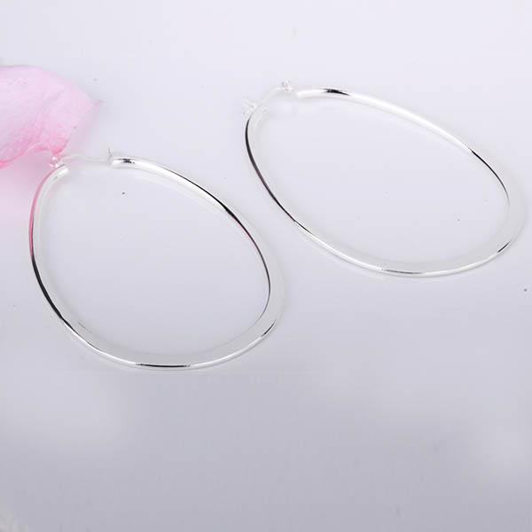 Al por mayor - el precio más bajo regalo de Navidad 925 pendientes de moda de plata esterlina E01