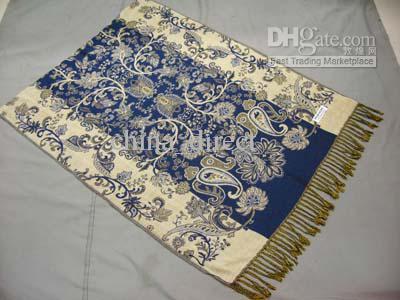 Wraps Schal der Mädchenfrauen Schal-Schal-Ponchos-Schal / # 1309