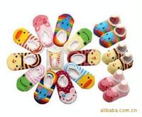 Wholesale Nissen Slip Socks - Nissen Baby shoes Children's Shoes Cotton Non-slip Bottom Cartoon Boat Socks